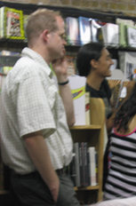 Chris Ware at Quimby's