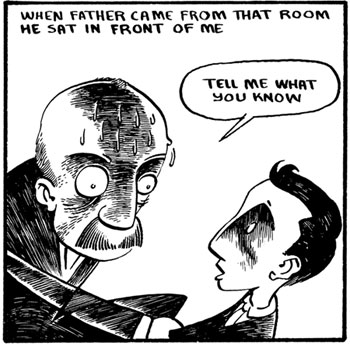 Panel from Elijah Brubaker's Reich Series (Sparkplug Comics)